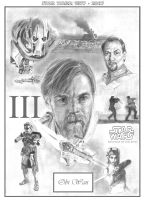 30 Years: Three - Obi Wan by RichardBurgess