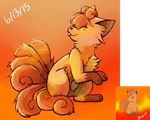 Vulpix redraw by Aka-turtle
