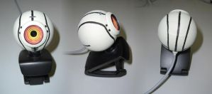 GLaDOS Webcam by Q-Rai