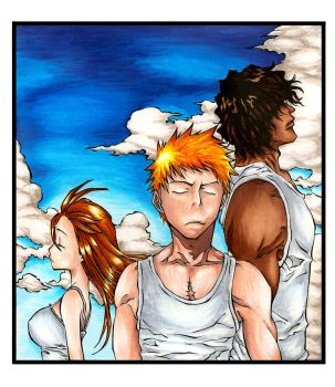 Bleach Trio by Marvolo-san