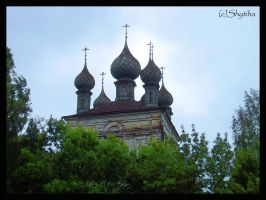 Church in Ples. Russia by shytiha