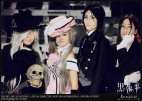 Black Butler Group 2009 MCCon by ero-de