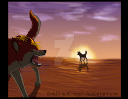 Request - Saphirawolf by GoldSnapDragon