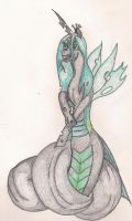 Naga Queen Chrysalis by TheGloriesBigJ