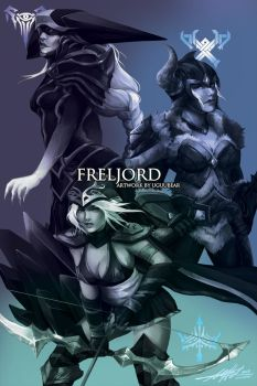 League of Legends: Freljord by betrayal-and-wisdom