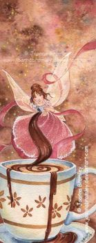 Hot Chocolate Fairy  by JoannaBromley
