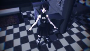 MMD the puppet model DL by AlinaMaksimuk