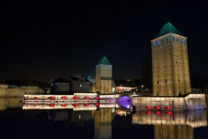 Strasbourg by Night 004 by LordGuardian