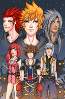 Kingdom Hearts II by amuupon