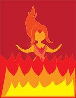 Anima Sola (Flame Princess) by BenjaminHopkins