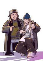 Jay and Silent Bob by COS1987