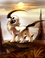 Absol by kori7hatsumine