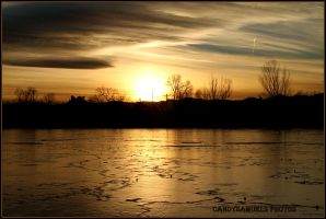 frozen fairway.. by candysamuels