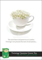 Twinings' Jasmine Green Tea Ad by iNoor88