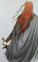 Maedhros the tall by Lucinda-Ithil