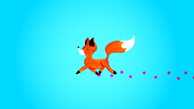 Cute Fox Wallpaper by ScytheaAndLanarkine