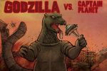 Godzilla vs. Captain Planet by ClearSkySuite