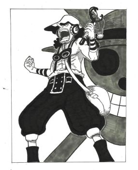 Usopp (after time skip) by syujin31