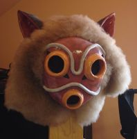 Princess Mononoke Mask by nippyfrog