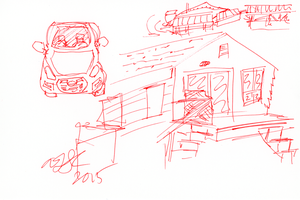 Bambe Cottage Sketch 2 by AdamTSC