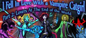 I Fell in Love With a Vampire Catgirl Banner by spacelion88