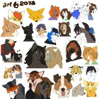 some furry and animals by 2078