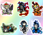 MI4D-Roles-of-the-Seasons-Chibified by vergilsaigakuzai