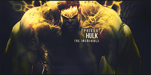 The Incredible Hulk by Epixha