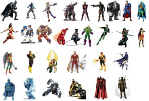 Injustice Roster 8/7/2013 by Salvy35z