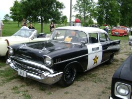 1957 Chevy Bel-air Police Car by 97Dodge-Guy