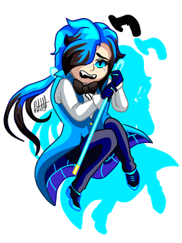 .:Chibi Will Cipher:. by Flaky-Skarlet