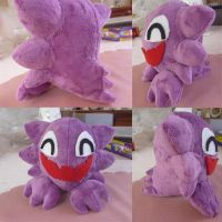 Haunter Plush by ChibiTigre
