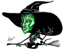 Wicked Witch of the West by DiegoTomasiniDIBRUJO