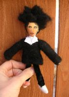 Love cats Robert Smith doll by modastrid