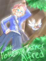 ASK POKEMON TRAINER ALFRED! [ask box open!] by CaptainJellyroll