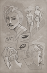 Sketch Page: Acantha by Hooke