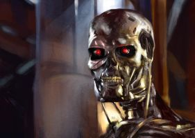 Terminator Movie stills study by Aberzheim
