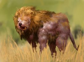 Mutated Lion by mythrilgolem1