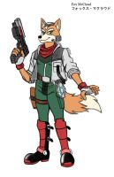 Fox McCloud Colorized by MDTartist83