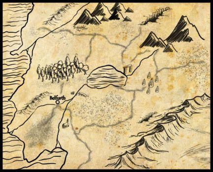 Hand draw map brush - part 1 by I-A-Grafix