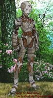 Female Warforged by Edymnion