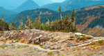 Mt Rainier Tilt-Shift by WonderDookie