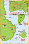 Dumaguete and Siquijor Map by xed83