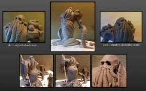 Rotten swamp--creature (Sculpt) by Jack---Shadow