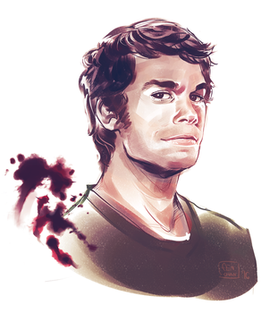 Dexter Morgan by Fennethianell