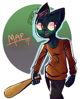 Mae Doodle (nitw) by Ironic-Melon