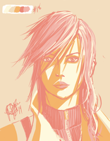 Lightning Farron  - Color Palette 18 by ChiliFace