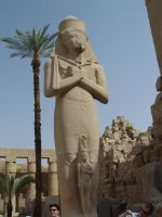 Egyptian Statue by Lassic
