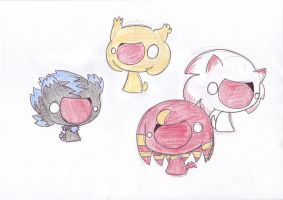 T-RQ: Mephy,Iblis,Opal,Molly by LeniProduction