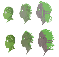 Dryad Aging and Face Markings by DimeSpin